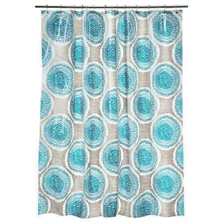 $9.99 Doodle Medallion Shower Curtain - Room Essentials™ : Target
