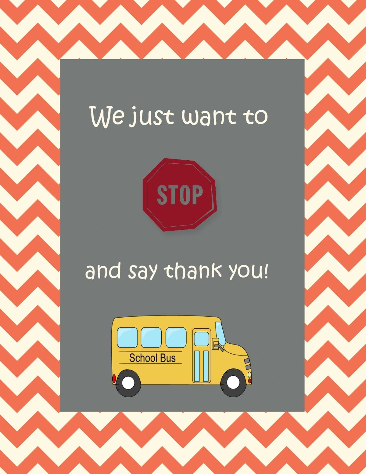 photograph relating to Bus Driver Thank You Card Printable referred to as Pin as a result of Alison Smith upon Instructor reward suggestions Bus driver presents