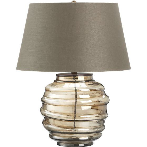 Dusk Table Lamp in Table, Desk Lamps | Crate and Barrel