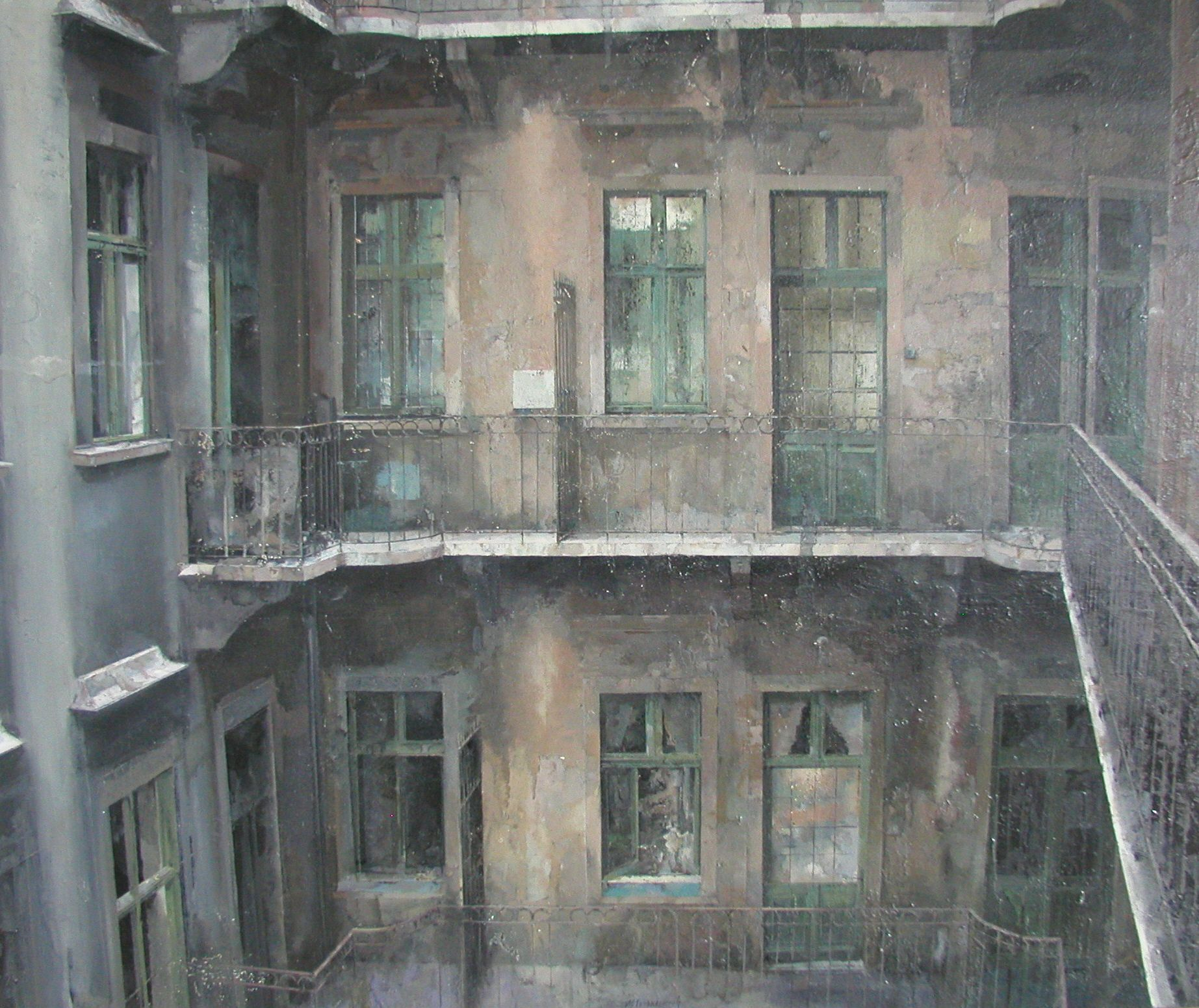 Matteo Massagrande, 2010, 100 x 120 cm #contemporary #art #painting