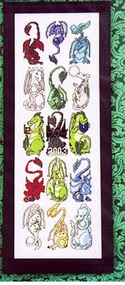 Weekly New Cross-Stitch Book Listing Detail Page. I have this pattern book and the individual free patterns from the Dragon Dreams website.