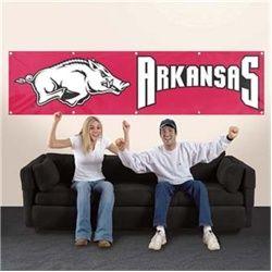 Arkansas Razorbacks Giant 8 x 2 Banner $59.99