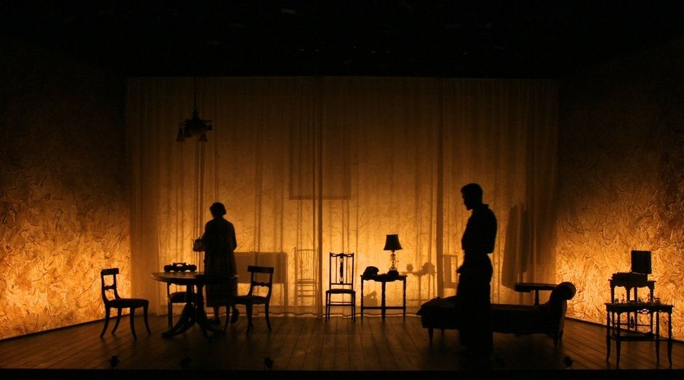 Lighting Design The Glass Menagerie L B Morse Stage