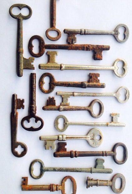 I Adore Old Keys アンティークキー 鍵 アンティーク