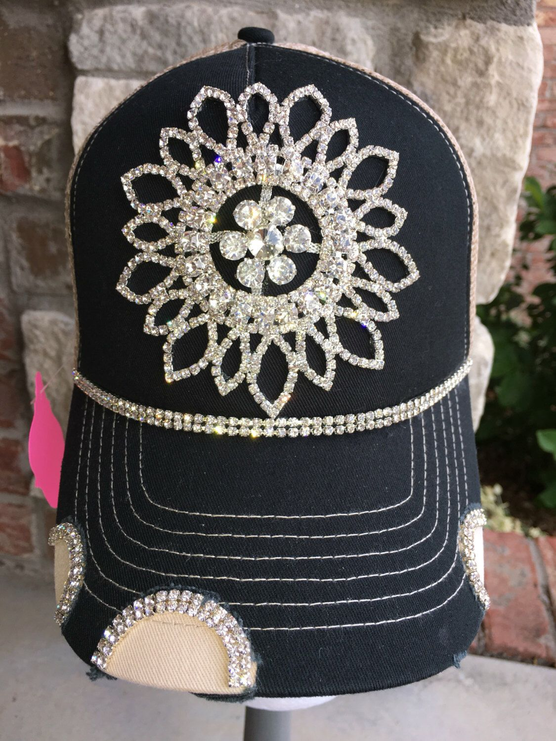41a78c35c6c Baseball Hats · Hats For Women · Ladies Fashion · Super Cute · A personal  favorite from my Etsy shop https   www.etsy.com
