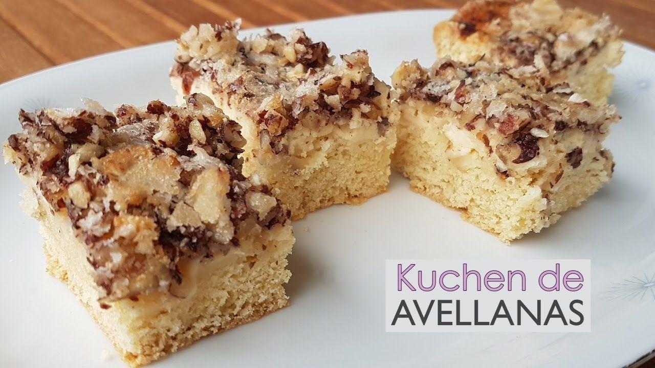 Torta (o Kuchen) alemana de avellanas