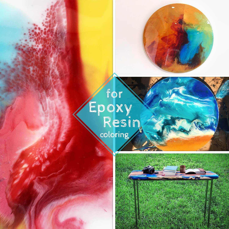 Epoxy Resin Color Pigment 50 Color Mica Powder Epoxy Resin Dye Cosmetic Grade Soap Colorant For Soap Making In 2020 Soap Colorants Soap Making Supplies Color Epoxy