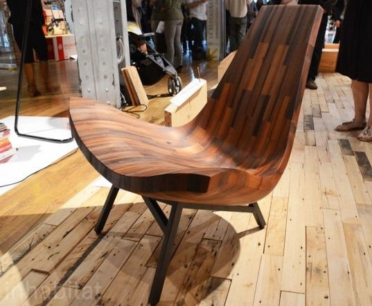 Water Tower Chair Bellboy X Wanted Design Reclaimed Wood - Reclaimed wood table nyc