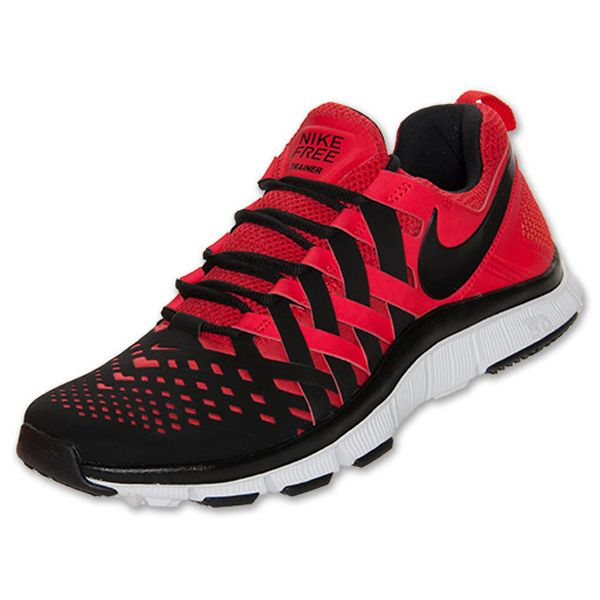 be4698efa4c3 Nike Men s Nike Free Trainer 5.0 Cross Training Shoes  579809 601  -  85.49    Pimento White Black