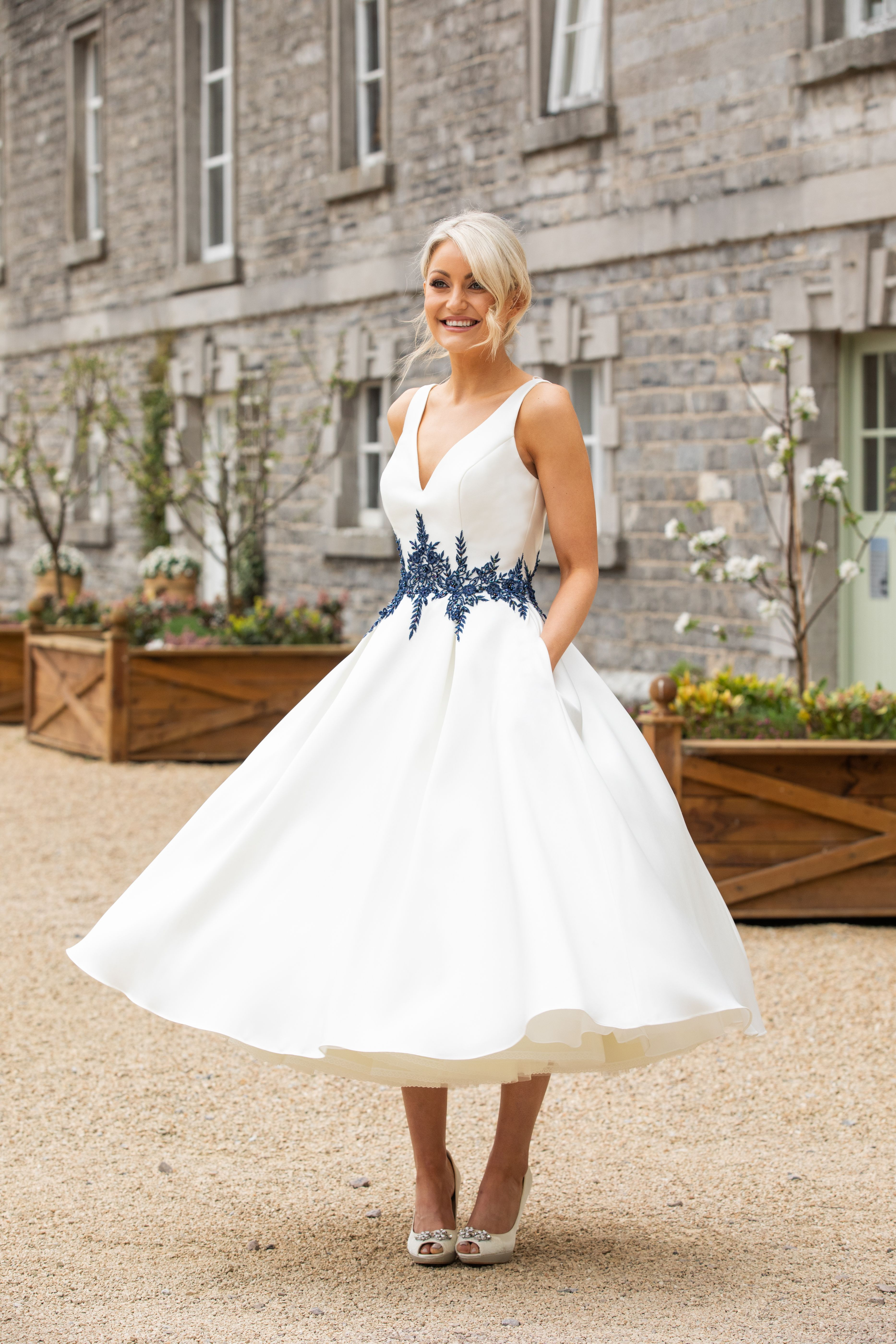 Pin by Special Day Bridal on Tea length wedding dresses
