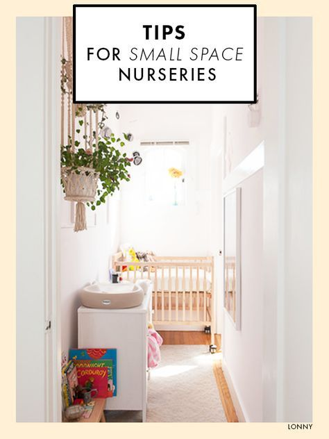 Tips For Stylish Small Space Nurseries | Small space nursery ...