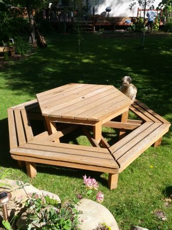 Picnic Table Unique Design Patio Furniture