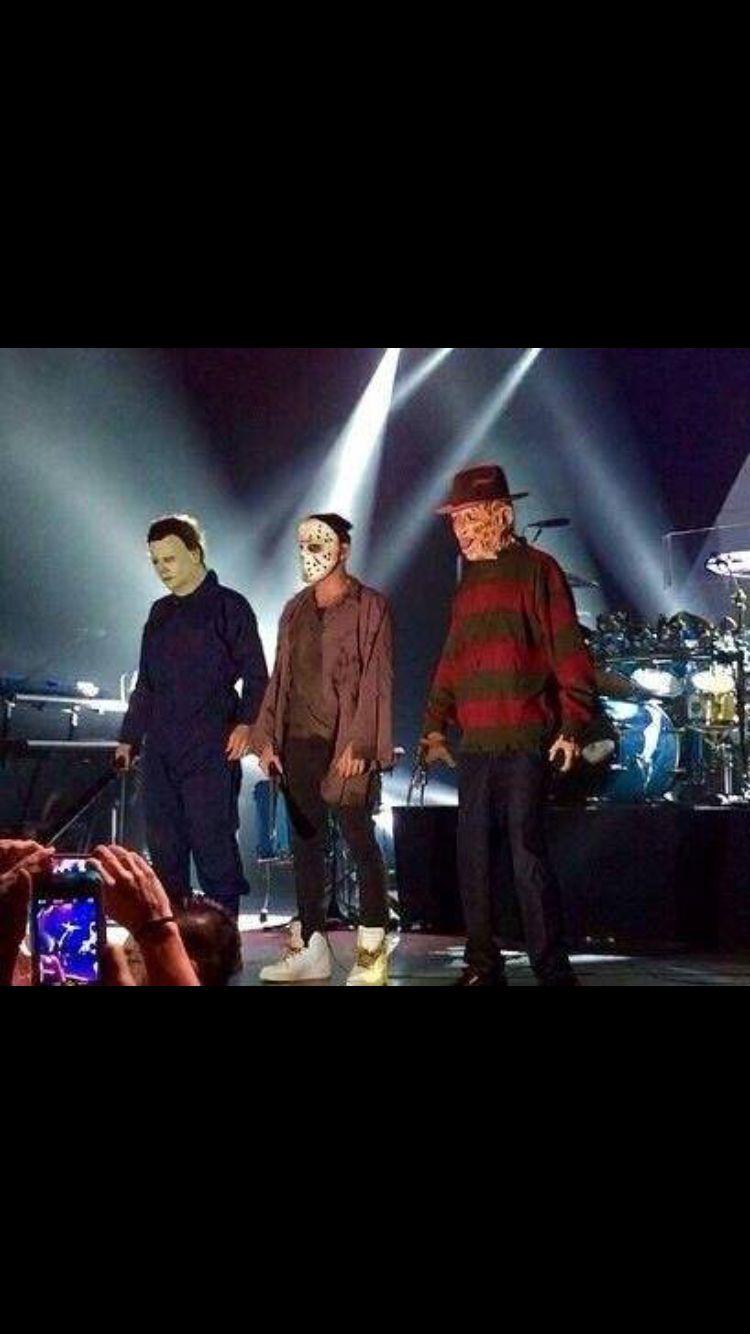 Definitivamente. KROQ Halloween Costume Ball, Tomo, Shannon u Jared