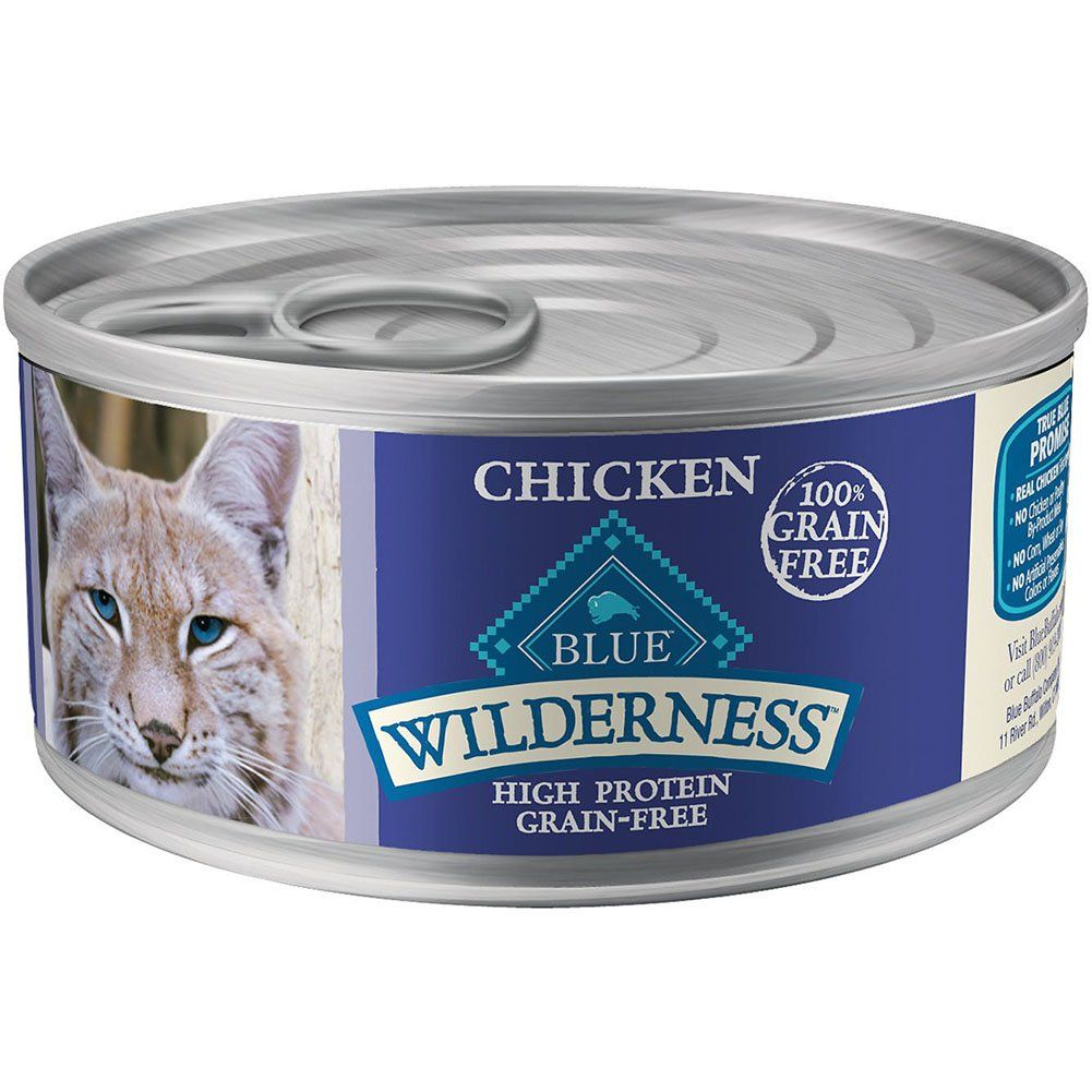 Blue Buffalo Wilderness Grain Free Wet Cat Food Variety Pack 3 Flavors Salmon Turkey And Chicken By Blue Buffalo You Can Canned Cat Food Cat Food Coupons Dry Cat Food