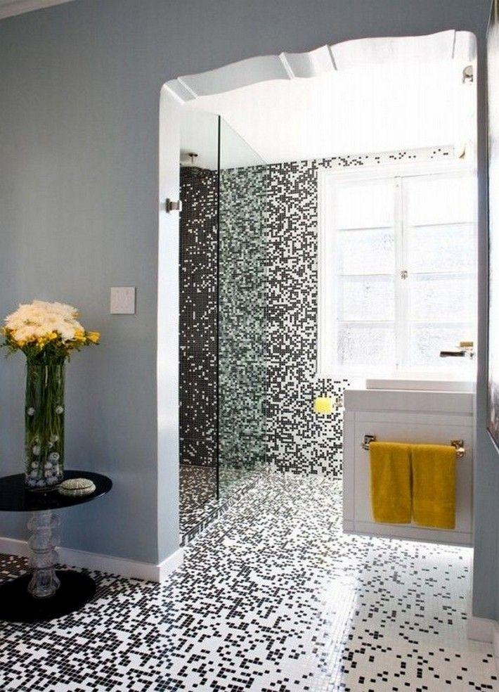 Luxury Bathroom Mosaic Bathroom Design Tiles Inspiration And Ideas From Maison Valentina Custom Mosaic Bathroom Minimalist Bathroom Design Bathroom Tile Designs