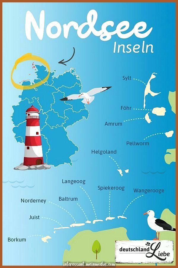 Nordseeinseln In Deutschland ᐅ Jetzt In Den 12 Nordseeinseln