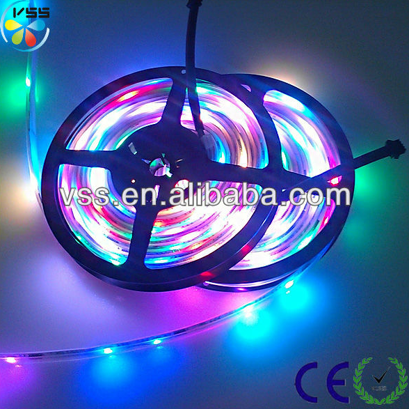 Colored Led Light Strips Awesome Programmable Smd5050 Led Strip 60Led Per Meter Addressable Rgb Led