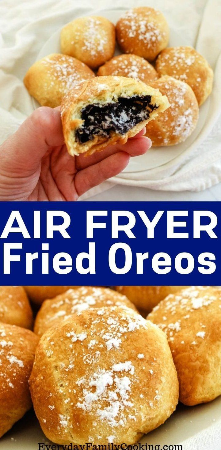 DeepFried Oreos in an Air Fryer Easy air fryer oreos with