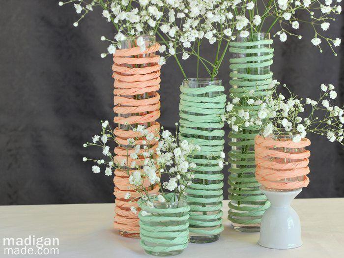 Mint Green Wedding Centerpiece Ideas