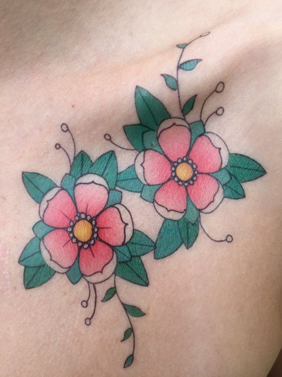 This Item Is Unavailable Etsy Traditional Tattoo Blossom Tattoo Cherry Blossom Tattoo