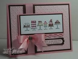 stampin up birthday bakery - Google Search