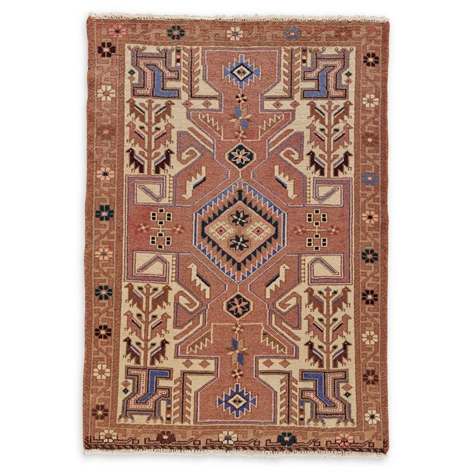 Feizy Rugs Antique Mousel 3 4 X 5 Area Rug In Blush Bed Bath