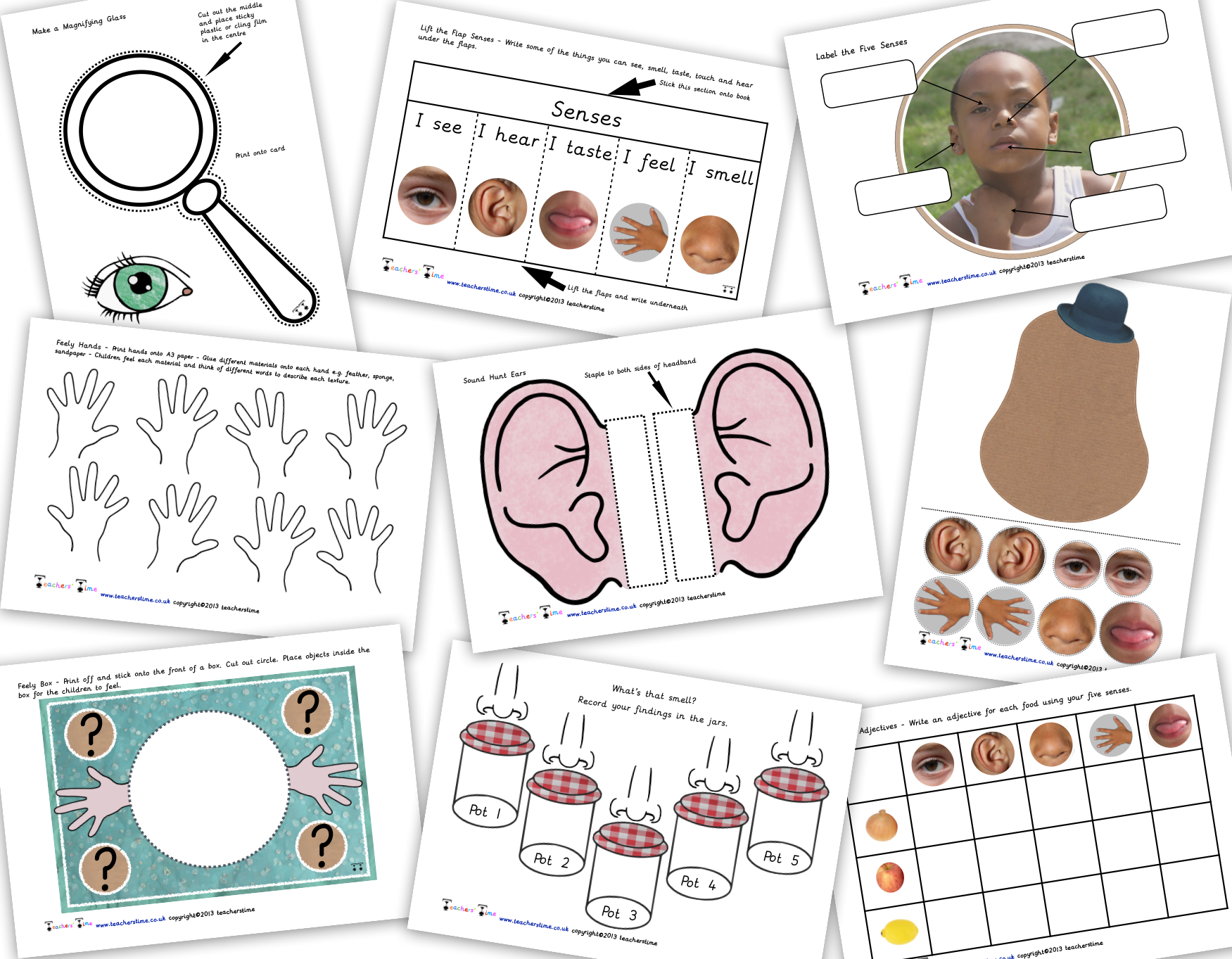 Pin By Teachers Time On Senses Resources