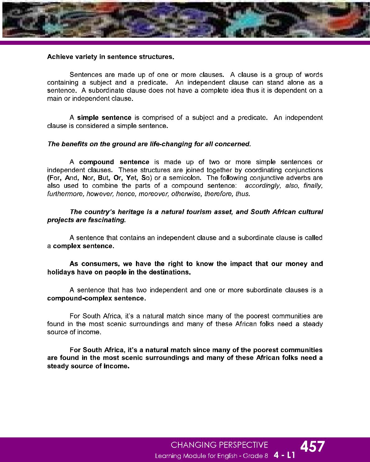 Dep Ed Grade 8 English Learning Guide Quarter 4 En