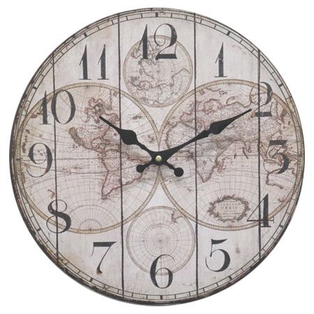 Add an artful touch to your foyer or entryway with this captivating add an artful touch to your foyer or entryway with this captivating wood wall clock gumiabroncs Image collections