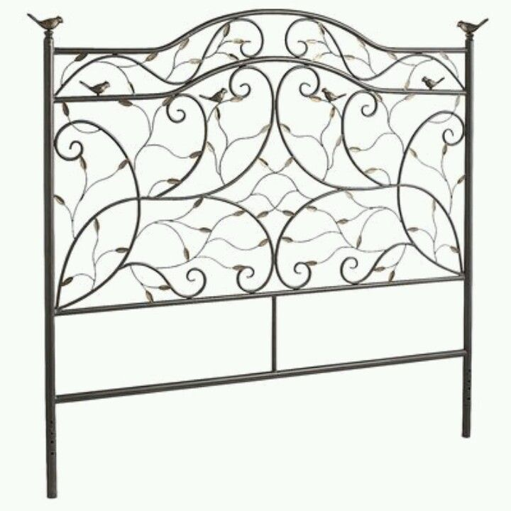 Perched Bird Queen Headboard Saw This In Store So Pretty And