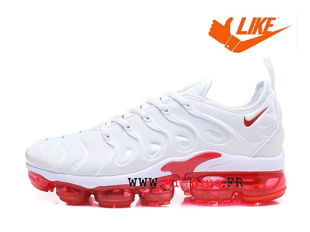 the best attitude f0972 5fa50 Chaussures de Basketball Nike Prix Pour Homme Nike-Air-VaporMax-Plus Tn  Blanc