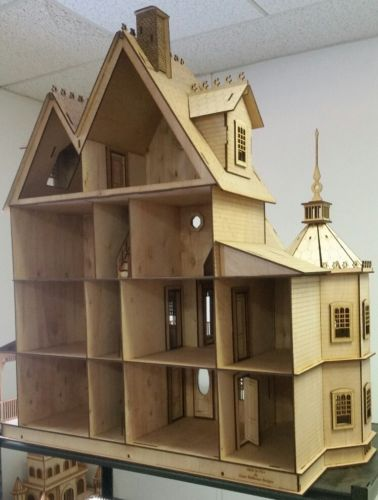Ashley II Gothic Victorian Mansion Dollhouse Very Large Kit 1 12 Scale for sale online | eBay
