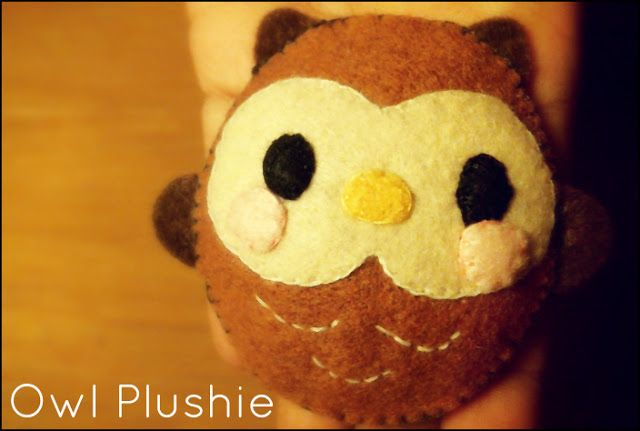 Hapy Friends Shoppe: How To Sew A Kawaii Owl Plush Tutorial | Free ...
