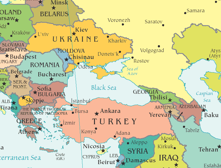 map of georgia and neighbouring countries  Google Search  A BIT