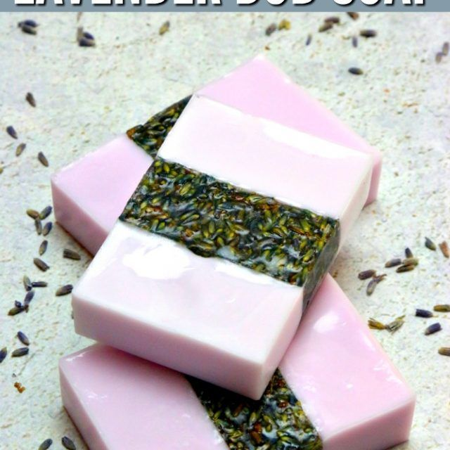 Rosemary Lavender Melt And Pour Soap Bars For Beginners