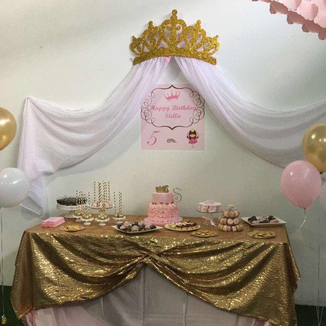 Princess Wall Canopy & Bed Crown Canopy Crib Crown Nursery ...