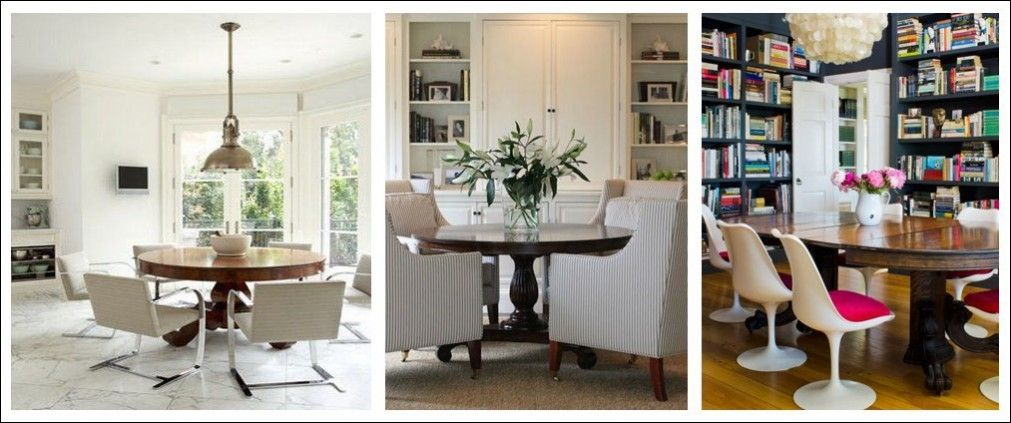Inspired By Antiques Upcycling Vintage Mahogany Dining Table With Modern Chairs Examples