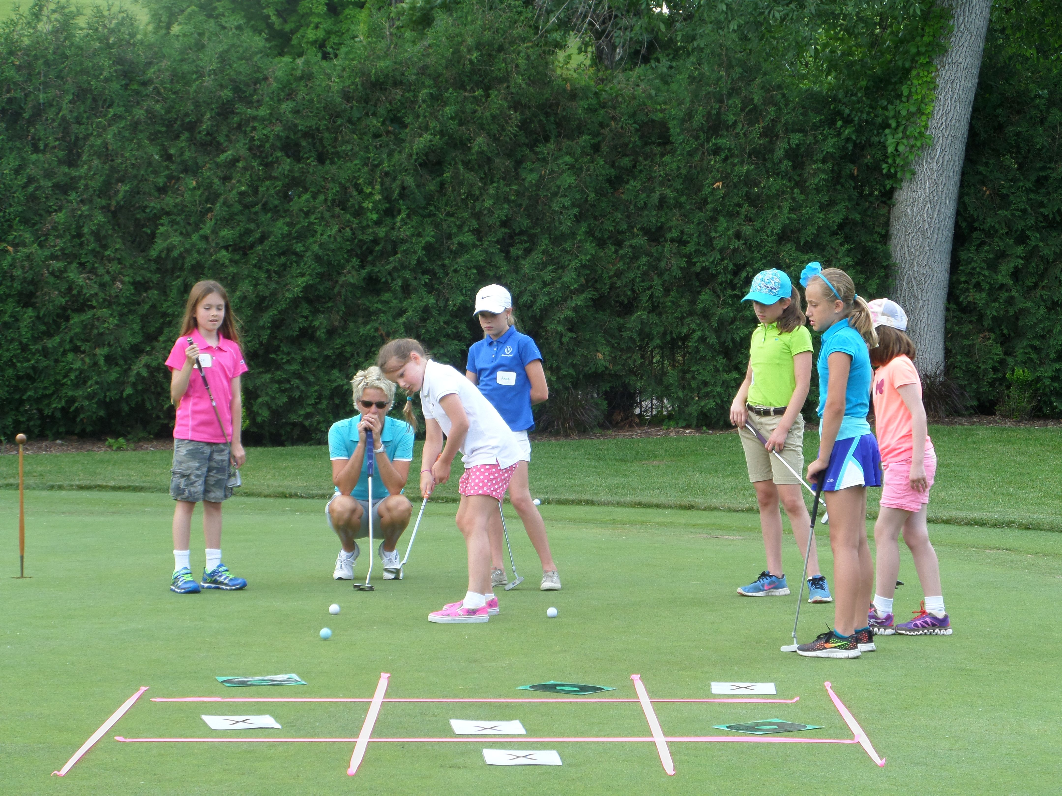 tic tac toe junior golf game at town u0026 country club of st paul