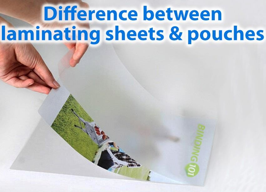 Difference Between Laminating Sheets Lamination Pouches Laminate Sheets Pouch Laminators