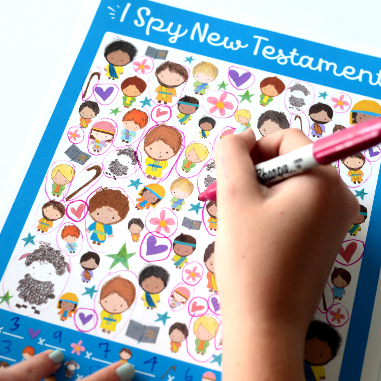 I Spy New Testament Printable Game