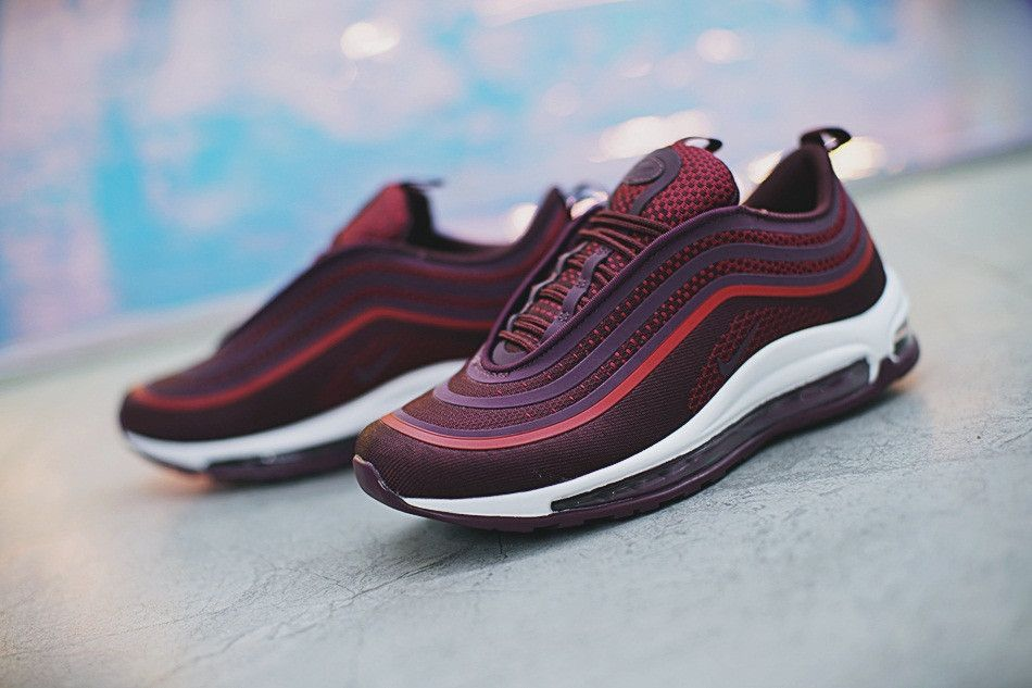 NIKE AIR MAX 97 ULTRA 17 NOBLE RED PORT WINE 918356 600