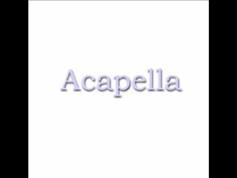 Acapella-Get Right Church - YouTube | Acapella Songs