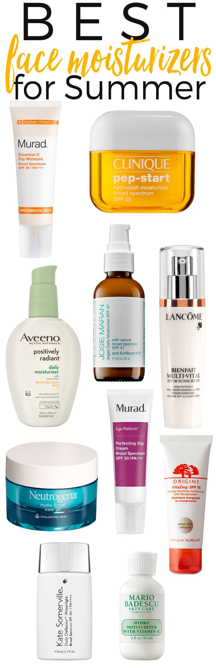 10 best skincare tips for summer time