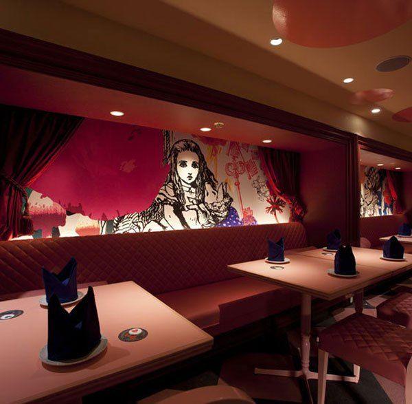 Alice in Wonderland Themed Restaurant - Artists Inspire Artists
