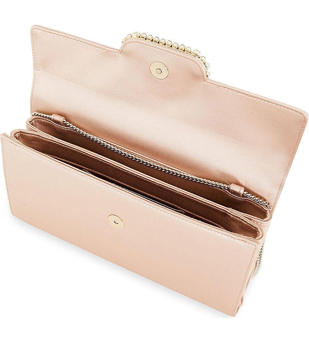 ROGER VIVIER Envelope silk-satin clutch bag Clutches 8cb034d569673