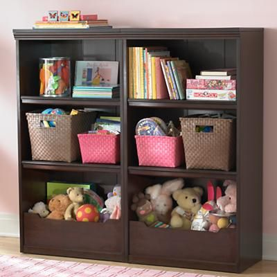 Kids Bookcases Kids Espresso Flat Top With Adjustable Shelves Bookcase In Bookcases Bookshelves Kids Kids Bookcase Bookcase