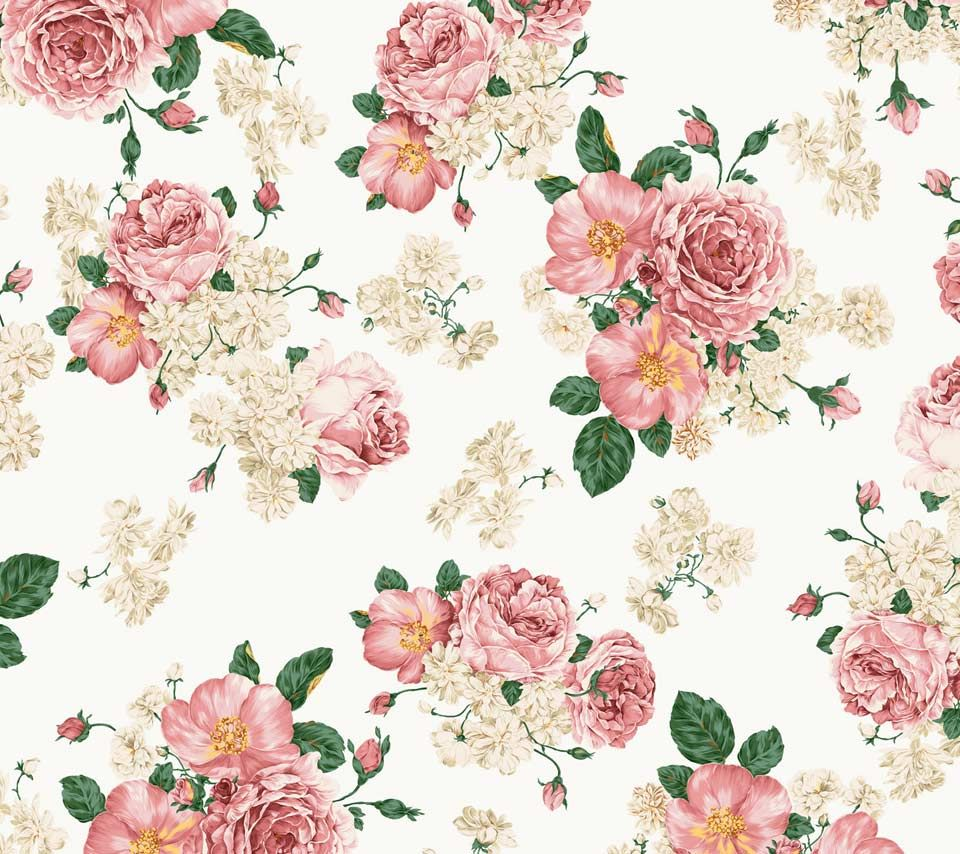 Flower background vintage buscar con google floral backgrounds image for vintage floral wallpaper dhlflorist Choice Image