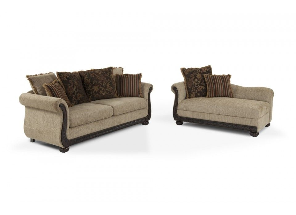 Gabriella Sofa u0026 Chaise Living Room