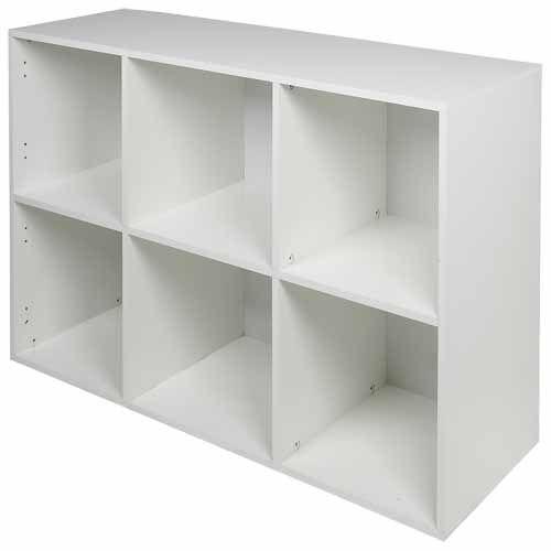 Nouveau Cube 2 X 3 White Cube Shelves Cube Cube Storage
