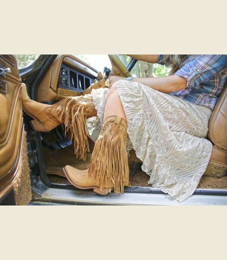 7c2b0d17995 THE RAMBLER FRINGE BOOT . . for all those restless spirits out there ...